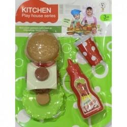 set cocina ketchup