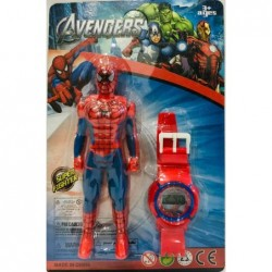 Reloj y muñeco Hombre araña