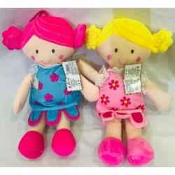 muñecas floreadas