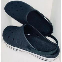 sueco sandalia negra