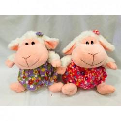 oveja con vestido