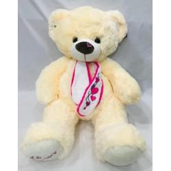 oso con bufanda corazón