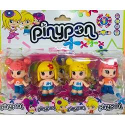 muñecas pinipon blister x4