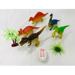 dinosaurios en bolsa