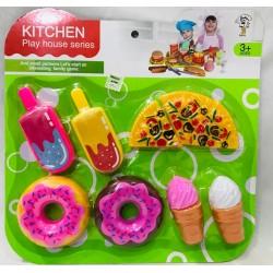 set kitchen helados