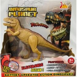 tiranosaurio con luz y sonido