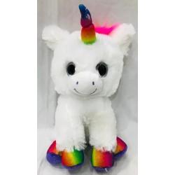unicornio sentado con luz y...