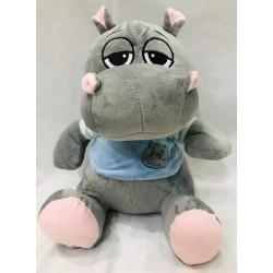 hipopótamo con remera