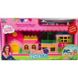 casa con accesorios